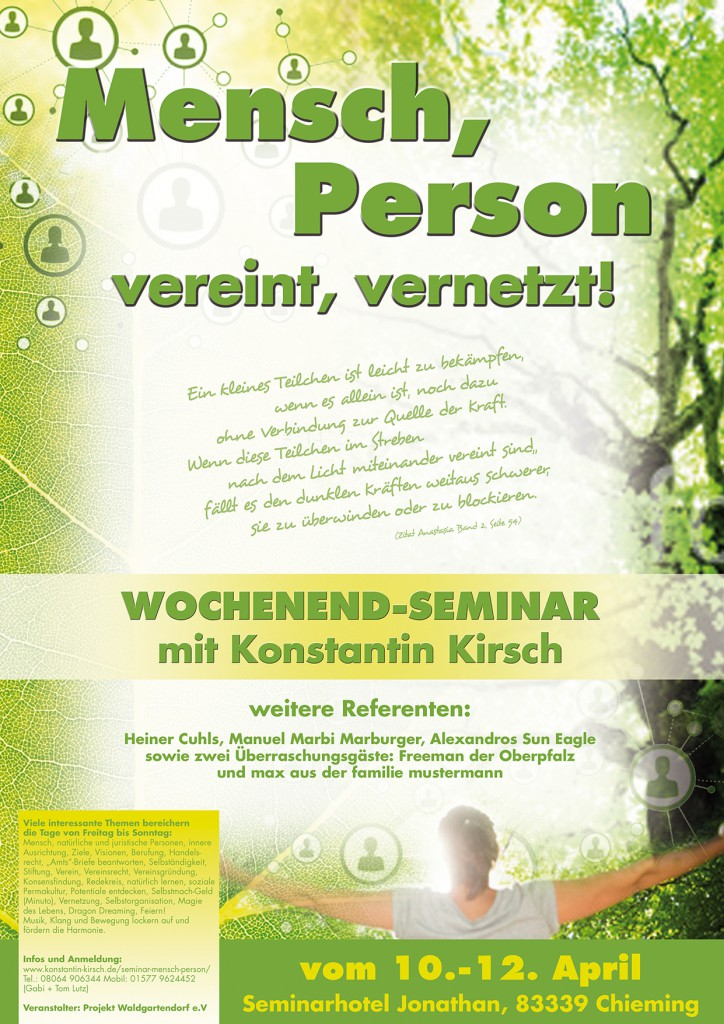 Plakat-Mensch-Person